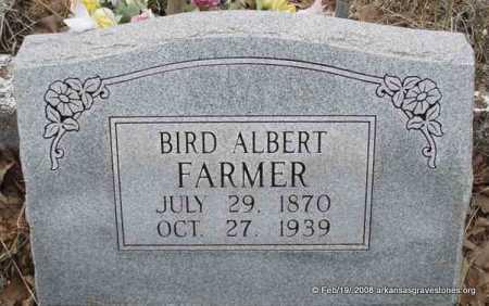 FARMER, BIRD ALBERT - Scott County, Arkansas | BIRD ALBERT FARMER - Arkansas Gravestone Photos