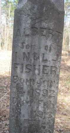 FISHER, ALBERT - Scott County, Arkansas | ALBERT FISHER - Arkansas Gravestone Photos