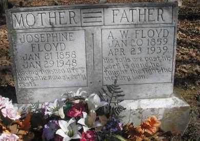 FLOYD, A  W - Scott County, Arkansas | A  W FLOYD - Arkansas Gravestone Photos
