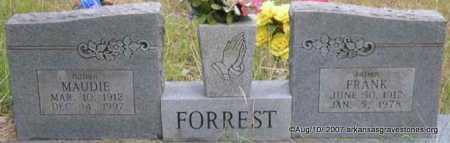 FORREST, MAUDIE - Scott County, Arkansas | MAUDIE FORREST - Arkansas Gravestone Photos