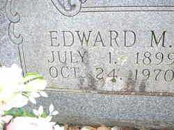 FOX, EDWARD M  (CLOSEUP) - Scott County, Arkansas | EDWARD M  (CLOSEUP) FOX - Arkansas Gravestone Photos