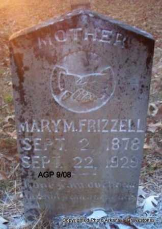 FRIZZELL, MARY M - Scott County, Arkansas | MARY M FRIZZELL - Arkansas Gravestone Photos