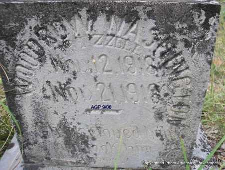 FRIZZELL, WOODROW WASHINGTON - Scott County, Arkansas | WOODROW WASHINGTON FRIZZELL - Arkansas Gravestone Photos