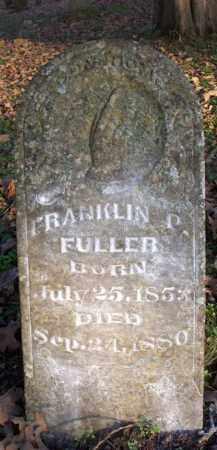 FULLER, FRANKLIN P - Scott County, Arkansas | FRANKLIN P FULLER - Arkansas Gravestone Photos