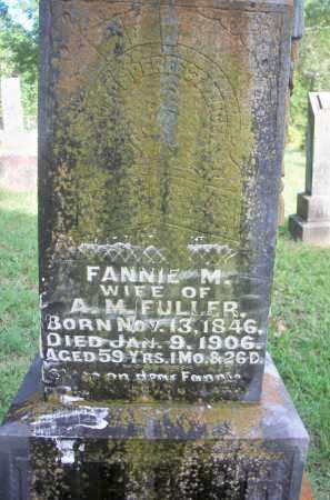 FULLER, FANNIE M - Scott County, Arkansas | FANNIE M FULLER - Arkansas Gravestone Photos