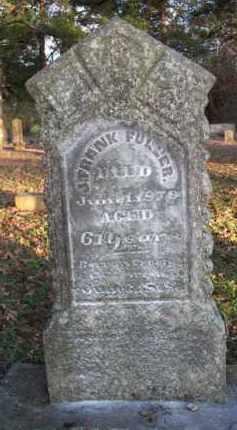 FULLER, J  FRANK - Scott County, Arkansas   J  FRANK FULLER - Arkansas Gravestone Photos