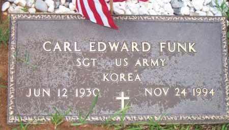 FUNK  (VETERAN KOR), CARL EDWARD - Scott County, Arkansas   CARL EDWARD FUNK  (VETERAN KOR) - Arkansas Gravestone Photos