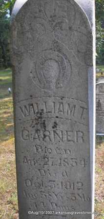 GARNER, WILLIAM T - Scott County, Arkansas | WILLIAM T GARNER - Arkansas Gravestone Photos