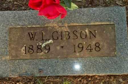 GIBSON, W  L - Scott County, Arkansas | W  L GIBSON - Arkansas Gravestone Photos