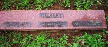 GILBERT, INFANT DAUGHTER - Scott County, Arkansas | INFANT DAUGHTER GILBERT - Arkansas Gravestone Photos