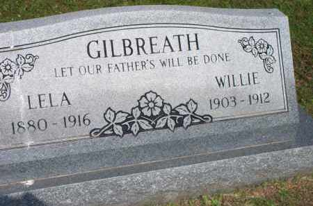 GILBREATH, WILLIE - Scott County, Arkansas | WILLIE GILBREATH - Arkansas Gravestone Photos