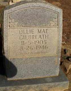 GILBREATH, OLLIE MAE - Scott County, Arkansas   OLLIE MAE GILBREATH - Arkansas Gravestone Photos