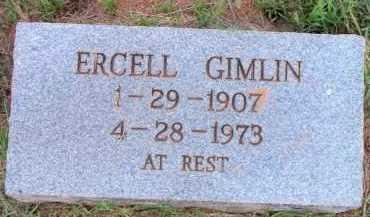 GIMLIN, ERCELL - Scott County, Arkansas | ERCELL GIMLIN - Arkansas Gravestone Photos