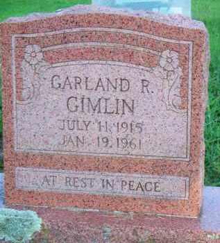 GIMLIN, GARLAND R - Scott County, Arkansas | GARLAND R GIMLIN - Arkansas Gravestone Photos