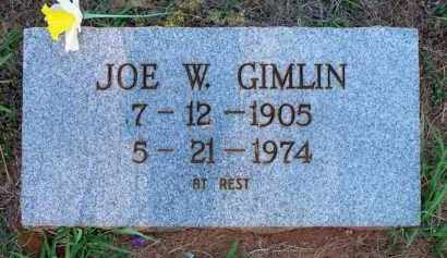 GIMLIN, JOE W - Scott County, Arkansas | JOE W GIMLIN - Arkansas Gravestone Photos