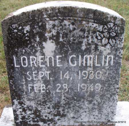 GIMLIN, LORENE - Scott County, Arkansas | LORENE GIMLIN - Arkansas Gravestone Photos