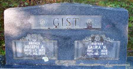 GIST, JOSEPH A - Scott County, Arkansas | JOSEPH A GIST - Arkansas Gravestone Photos
