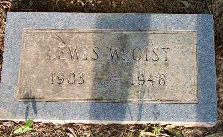 GIST, LEWIS W - Scott County, Arkansas | LEWIS W GIST - Arkansas Gravestone Photos