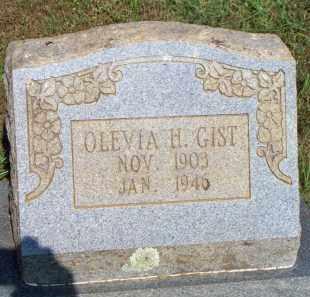 GIST, OLEVIA H - Scott County, Arkansas | OLEVIA H GIST - Arkansas Gravestone Photos
