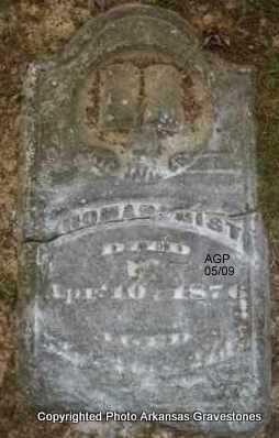 GIST, THOMAS - Scott County, Arkansas | THOMAS GIST - Arkansas Gravestone Photos