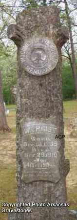 GIST, WM H - Scott County, Arkansas | WM H GIST - Arkansas Gravestone Photos