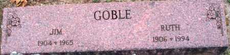GOBLE, JIM - Scott County, Arkansas   JIM GOBLE - Arkansas Gravestone Photos
