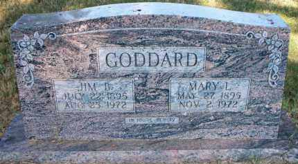 GODDARD, MARY L - Scott County, Arkansas | MARY L GODDARD - Arkansas Gravestone Photos