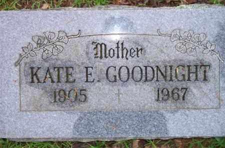 GOODNIGHT, KATE E - Scott County, Arkansas | KATE E GOODNIGHT - Arkansas Gravestone Photos
