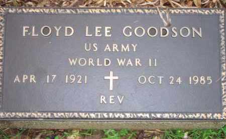 GOODSON  (VETERAN WWII), FLOYD LEE - Scott County, Arkansas   FLOYD LEE GOODSON  (VETERAN WWII) - Arkansas Gravestone Photos