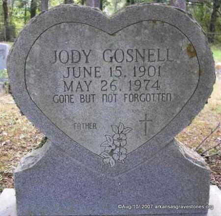 GOSNELL, JODY - Scott County, Arkansas   JODY GOSNELL - Arkansas Gravestone Photos