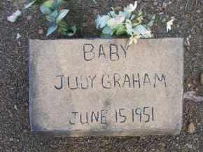 GRAHAM, BABY JUDY - Scott County, Arkansas | BABY JUDY GRAHAM - Arkansas Gravestone Photos