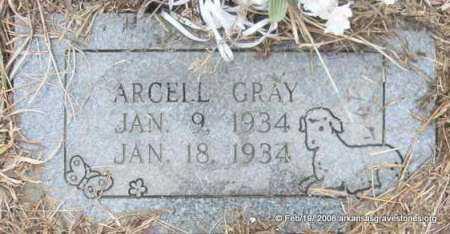 GRAY, ARCELL - Scott County, Arkansas   ARCELL GRAY - Arkansas Gravestone Photos
