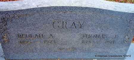 GRAY, BEULAH A - Scott County, Arkansas   BEULAH A GRAY - Arkansas Gravestone Photos