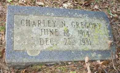 GREGORY, CHARLEY N - Scott County, Arkansas | CHARLEY N GREGORY - Arkansas Gravestone Photos