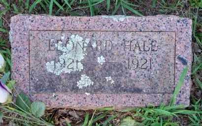 HALE, LEONARD - Scott County, Arkansas | LEONARD HALE - Arkansas Gravestone Photos