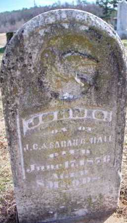HALL, JOHN C - Scott County, Arkansas | JOHN C HALL - Arkansas Gravestone Photos