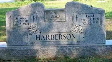 HARBERSON, BERNICE - Scott County, Arkansas   BERNICE HARBERSON - Arkansas Gravestone Photos