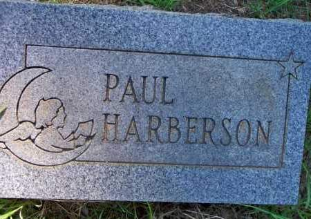 HARBERSON, PAUL - Scott County, Arkansas | PAUL HARBERSON - Arkansas Gravestone Photos