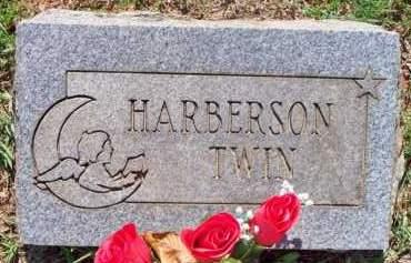 HARBERSON, TWIN - Scott County, Arkansas | TWIN HARBERSON - Arkansas Gravestone Photos