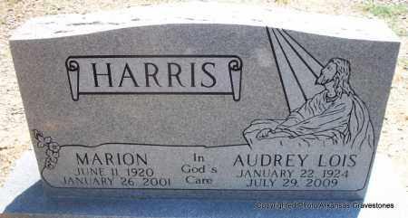 HARRIS, AUDREY LOIS - Scott County, Arkansas | AUDREY LOIS HARRIS - Arkansas Gravestone Photos