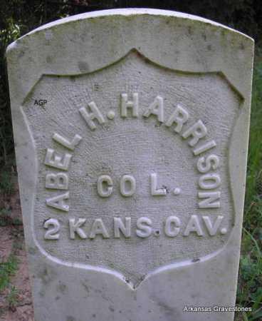 HARRISON  (VETERAN UNION), ABEL H - Scott County, Arkansas | ABEL H HARRISON  (VETERAN UNION) - Arkansas Gravestone Photos