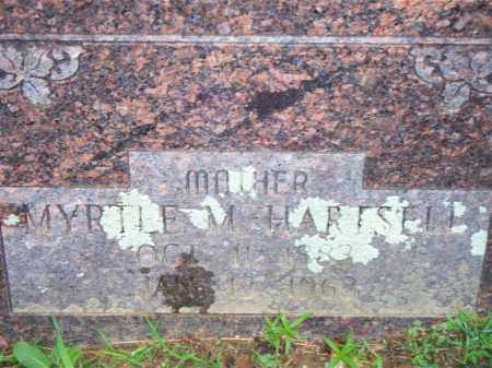 HARTSELL, MYRTLE M - Scott County, Arkansas | MYRTLE M HARTSELL - Arkansas Gravestone Photos