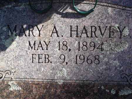 HARVEY, MARY A - Scott County, Arkansas   MARY A HARVEY - Arkansas Gravestone Photos