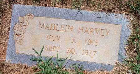 HARVEY, MADLEIN - Scott County, Arkansas   MADLEIN HARVEY - Arkansas Gravestone Photos