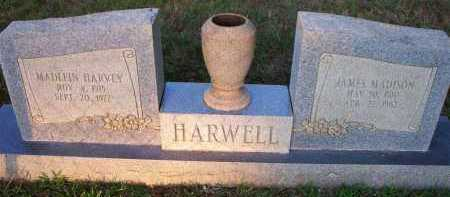 HARWELL, JAMES MADISON - Scott County, Arkansas | JAMES MADISON HARWELL - Arkansas Gravestone Photos