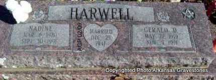 HARWELL, GERALD D - Scott County, Arkansas | GERALD D HARWELL - Arkansas Gravestone Photos