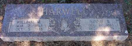 HARWELL, NINNIE B - Scott County, Arkansas | NINNIE B HARWELL - Arkansas Gravestone Photos
