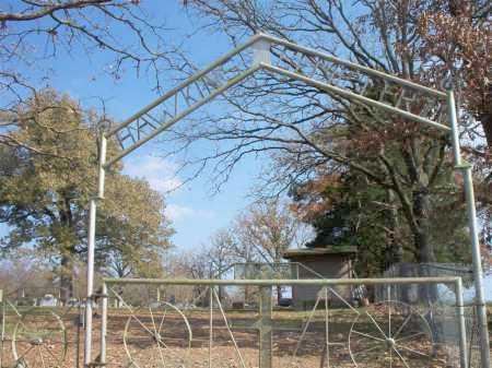 *HAWKINS CEMETERY GATE,  - Scott County, Arkansas |  *HAWKINS CEMETERY GATE - Arkansas Gravestone Photos