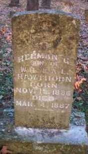 HAWTHORN, HERMAN G - Scott County, Arkansas   HERMAN G HAWTHORN - Arkansas Gravestone Photos