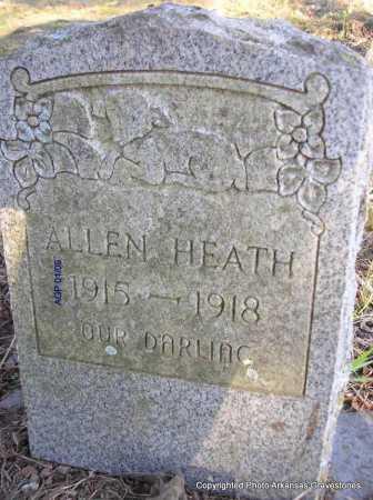 HEATH, ALLEN - Scott County, Arkansas | ALLEN HEATH - Arkansas Gravestone Photos